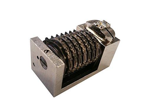 Letterpress Windmill Heidelberg 7 Digit Numbering Machine Backwards