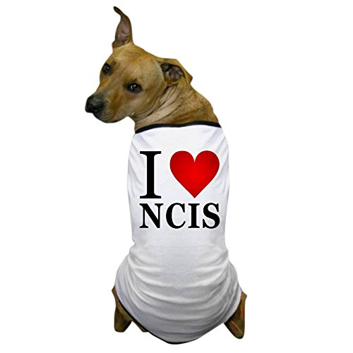 Costume Gibbs Ncis (CafePress - I Love NCIS Dog T-Shirt - Dog T-Shirt, Pet Clothing, Funny Dog)
