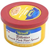 Henaff French Pork Rillettes - Traditional Recipe, 127 grams