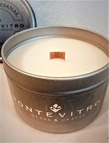 Vela aromatica TIN artesanal de Monte Vitro hecha a mano