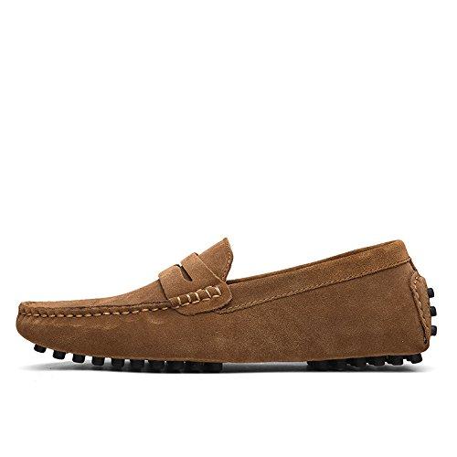 CFP - Botas mocasines hombre marrón