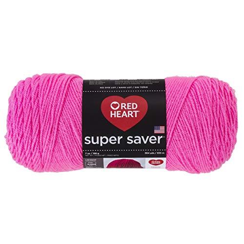 Red Heart Super Saver Economy Yarn, Pretty n Pink