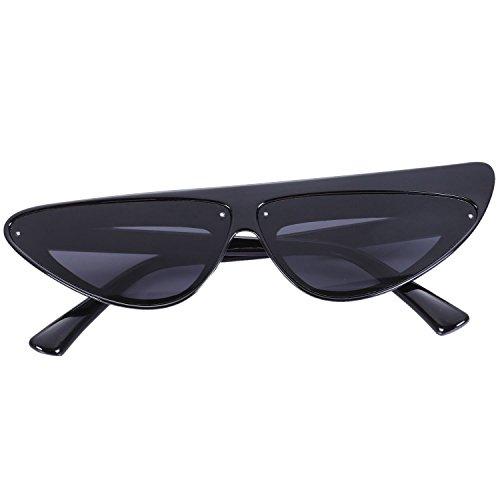 Gafas Eye Cat Sunglasses de SODIAL Shades Sun Travel Sexy Negro Leopardo Frame Mujeres Gafas lujo dwWXSIIqng