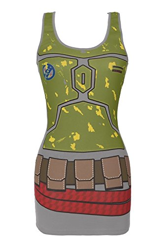 Star Wars I Am Boba Fett Tunic Tank
