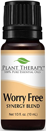 100% Pure Essential oils in a Stress Free Blend
