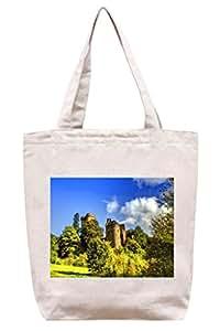 Alemania-Kasselburg - castillo de lona del algodón bolso de mano