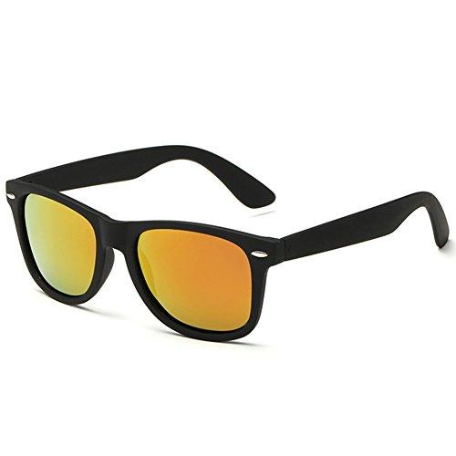 Joopin-2016 Retro Men Polarized Sunglasses Women Brand Sun Glasses Polaroid Lens With Box (Red)
