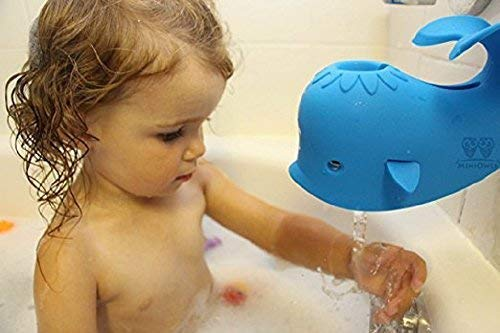 Aurelie Live Well Faucet Cover Baby (Pink Whale) & Bath Toy Organizer for Kids Bath Toys and Comes with 5 Bath Tub Squirts/Toys by Aurelie Live Well (Image #4)