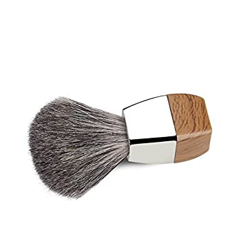 For Father's Day! Grutti Premium Shaving Brush Set With Luxury Brush Stand & Brush Holder For Soap Bowl & Manual Razor (Fusion 5) Kits For Men (Badger Hair Version) 3