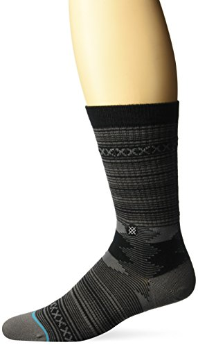 Stance Men's Guadalupe, Charcoal, L