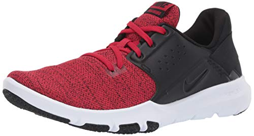 Nike Men's Flex Control TR3 Sneaker, Gym red/Black, 13 Regular US