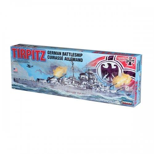 Lindberg Models Tirpitz German Battleship -