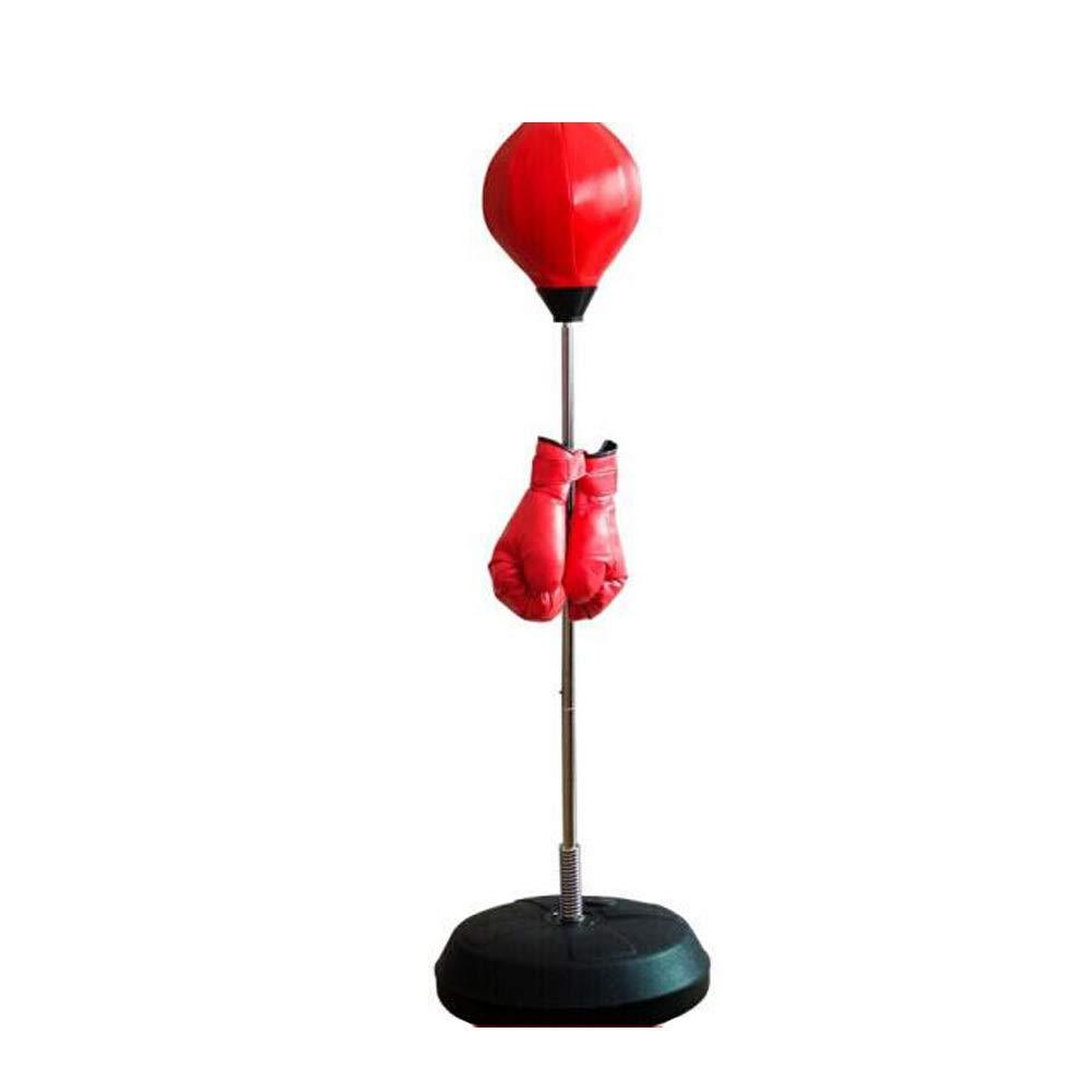 MINRUIGONGMAO Boxing Punching Bag, Boxing Sandbag Tumbler, Home Sports Fitness Training Equipment, Red Sporting Goods, by MINRUIGONGMAO