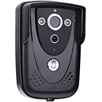 Video Door Phone Doorbell,WinnerEco 2.4G WI-FI Wireless Video Doorbell Camera Intercom Night Waterproof