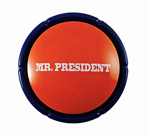 KINREX Gag Gifts – Donald Trump – Mr. President Sound Button – Noise Maker – Funny Buttons – Make America Great Again – 18 Crazy, Funny & Greatest Phrases in his Real Voice!
