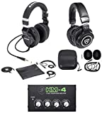 Best Samson Technologies AC Adapters - Samson Z-55 Lambskin Studio Headphones+Monitoring Headphones+Mackie 4-Way Amp Review