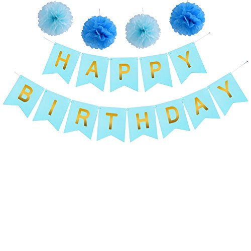 Birthday Decoration Banner Letters Supplies product image