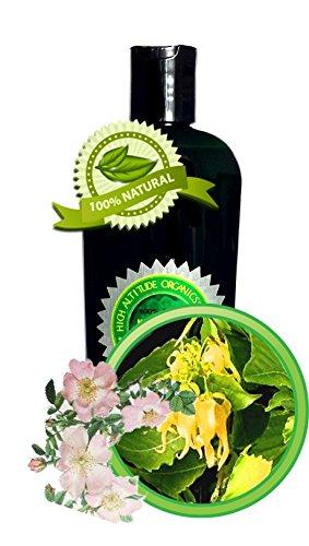 SUMMER RAIN Massage Oil 100% All-Natural and Organic - 8oz