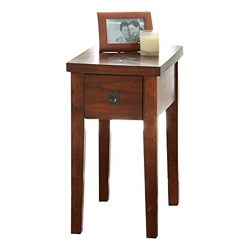 Steve Silver Company Davenport Chairside End Table, 13 x 24 x 24