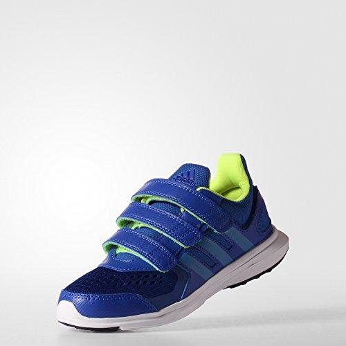 adidas Hyperfast 2.0 CF K - Zapatillas Para Niño Azul / Lima / Blanco