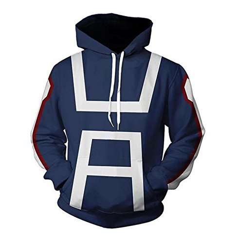 Wish Costume Shop My Hero Academia Hoodies Todoroki Shoto Cosplay Costume (XL, B) (Best Cosplay Costume Shop)