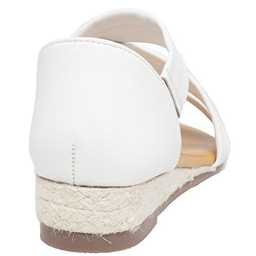 Sandales Blanc Blanc Sole Femme Rosa qHf8E