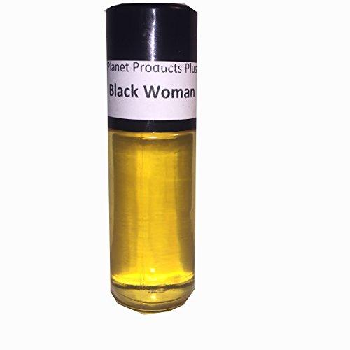 (1oz Black Woman Roll on Body Oil Fragrance.by NPS )
