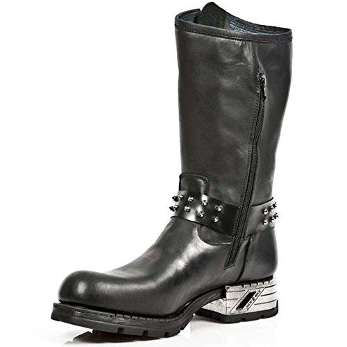 Chaussures S1 Smart Bottes cuir NEWROCK Cowboy Noir Rock New Gothique Range MR030 en Biker Western M YrxaYZfw