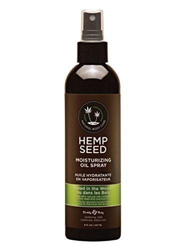 Earthly Body Hemp Seed Moisturizing Oil Spray (8 fl. oz.) - Naked In The Woods