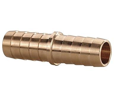 3//4 x 3//4 Brass 3//4 x 3//4 Tompkins 4200-12-12 Hose Barb Fitting Hose Splicer