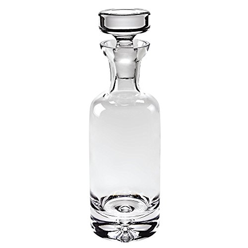 Badash - Galaxy Lead Free European Mouth Blown Crystal Cylinder Decanter 32oz - H10