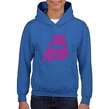 Artix Jeep Girl JK Fashion People Hoodie For Girls - Boys Youth Kids