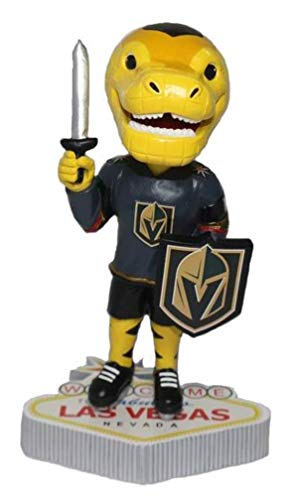 (Kollectico LAS Vegas Golden Knights Welcome to LAS Vegas BOBBLEHEAD - Chance)