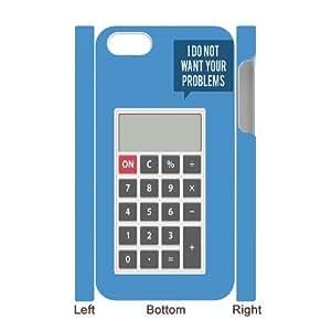 Calculator Design Cheap Custom 3D Cell Phone Case Cover for iPhone 4,4S, Calculator Design iPhone 4,4S 3D Case