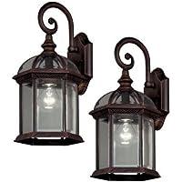 2-Pack Hampton Bay Outdoor Lantern