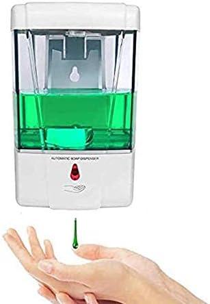 Dose di Rilascio 1 Ml per Bagno in Cucina Sensore Ir Automatico Blingbin Dispenser di Sapone da 600 Ml a Parete Pompa per Lozione del Sapone da Cucina Alimentata a Batteria Senza Contatto