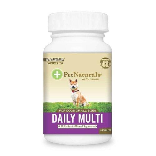 (Pet Naturals of VT Daily Multi-Vitamin Dog 60 Tablets)