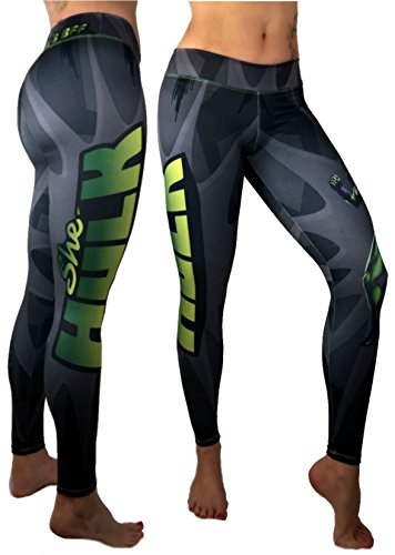 She Hulk Superhero Leggings Yoga Pants Compression Tights - Halloween Costumes Competition