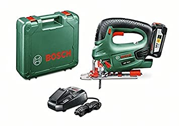 3c3f44c4c09dd0 Bosch Scie sauteuse  quot Expert quot  sans fil PST 18 Li 1 batterie 18V 2