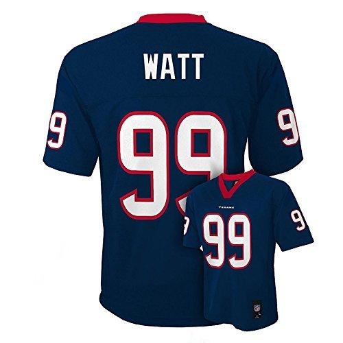 JJ Watt Houston Texans Youth Navy Jersey Medium 10/12