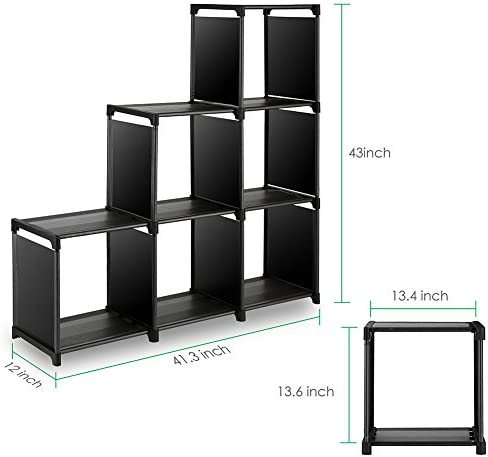 home, kitchen, furniture, home office furniture,  bookcases 1 image TomCare Cube Storage 6-Cube Closet Organizer Shelves deals