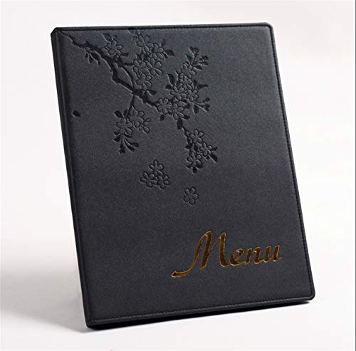 Custom Menu Cover - Zzooi Floral Design Loose Leaf Menu Covers Flowers Printed Menu Holders Custom The Number of Pages