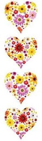 Mrs. Grossman's Stickers - Heart of Flowers - Photoessence Flowers - 4 Strips supplier:stuffgirl04 - Mrs Grossmans Sticker Strips