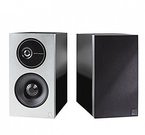 Definitive Technology Demand Series D9 High-Performance Bookshelf Speakers - Pair (Black) by Definitive Technology
