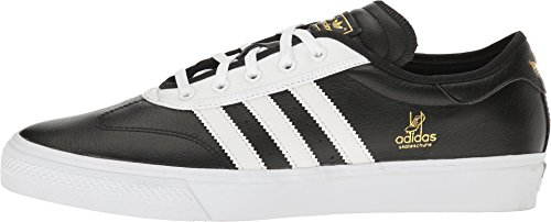 clearance discount buy online Adidas Men's Adi-Ease Premiere Skate Shoe Black/White/Gold Metallic get authentic for sale authentic for sale 9RGZlexENG