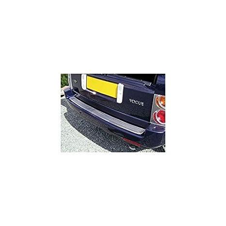 Embellecedor de parabrisas impacto trasera de acero inoxidable para Land Rover - DA1071: Amazon.es: Coche y moto