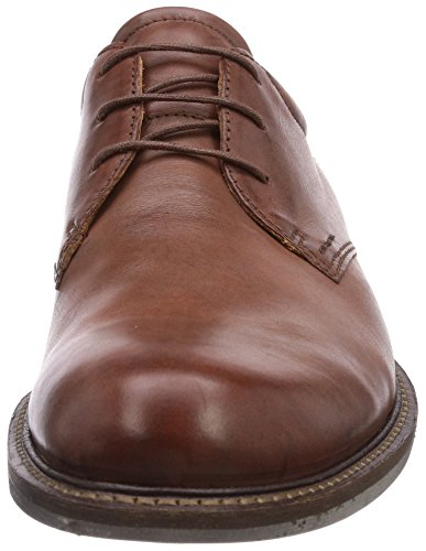 Stringate Derby Scarpe Marrone Uomo Basse ECCO Walnut 59129 mahogany Findlay wERq4OZ