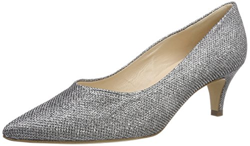 Peter Kaiser Women's Callae Closed Toe Heels, Pink Grey (Silber Estrela 300)