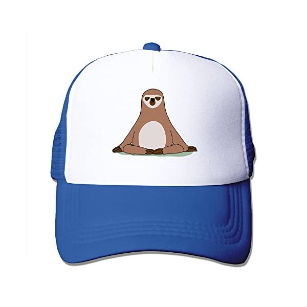 Snap Sloths Trucker Hat Snapback Cap -