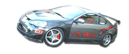 Duraflex ED-UXG-323 Type M Side Skirts Rocker Panels - 2 Piece Body Kit - Compatible For Acura RSX 2002-2006